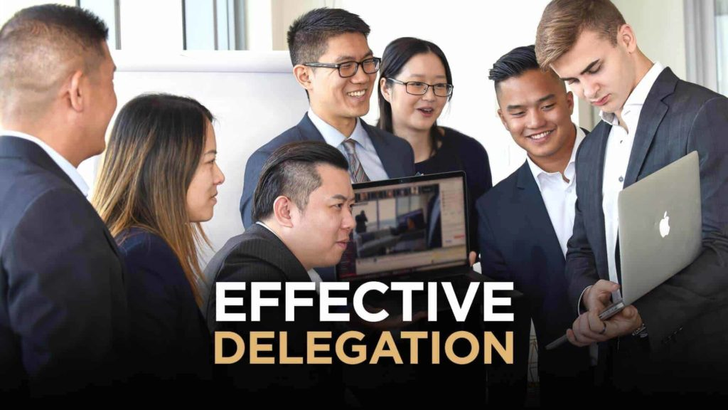 Delegate the Best People