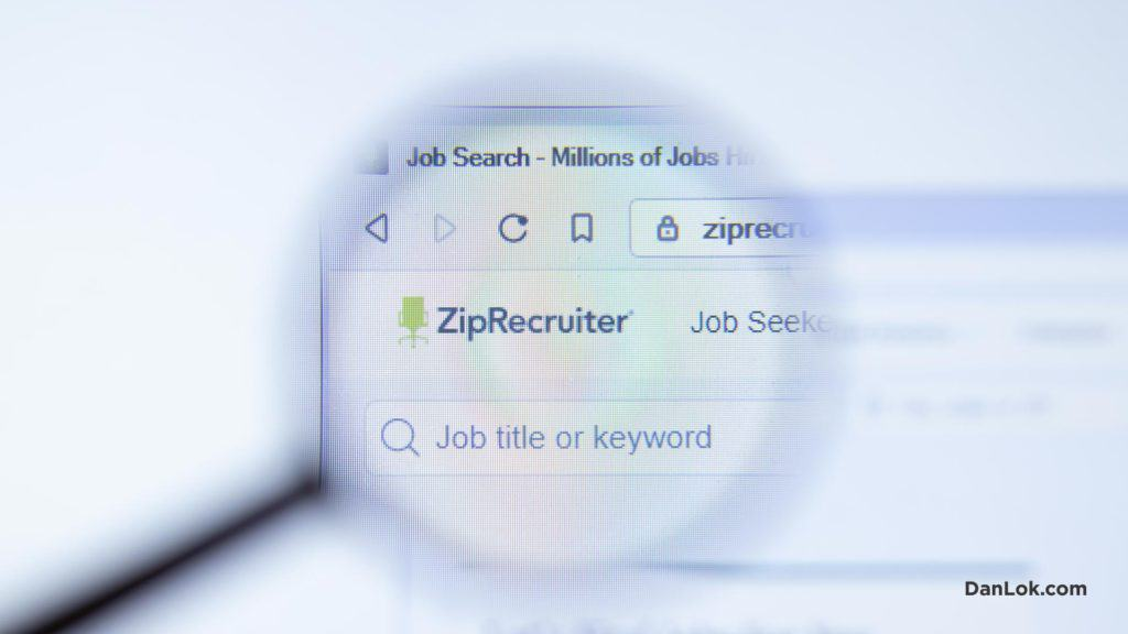 ZipRecruiter For Remote Work Job in the USA